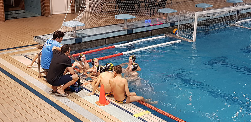 Equipo Waterpolo Brains Infantil A