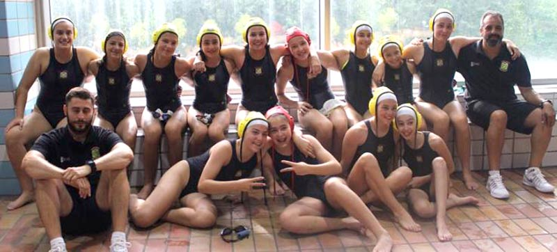 Equipo Chicas Waterpolo Brains